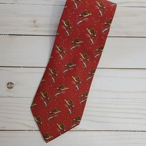 Brooks Brothers Silk National Audubon Society Tie